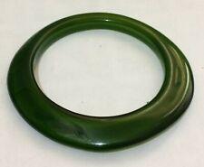 bracelet approx 2½ ins wide Lovely irregular green tone bangle style