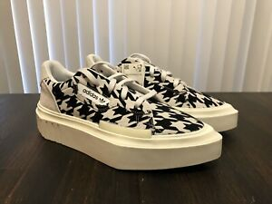 NWT Adidas Hypersleek Sneakers Shoes Originals Houndstooth Women's US 8 G54058