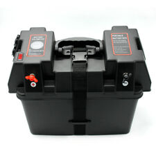 Marine Battery Charger Motor Smart  Box Boat Suv Heavyduty LED Battery Meter car