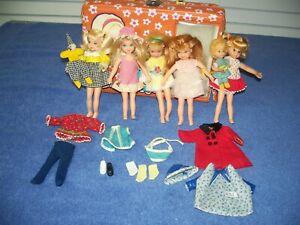 Vintage Barbie Tutti Buffy Mrs Beasley Swing A Ling Melody Chris Doll -Need TLC