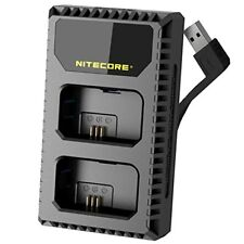 Nitecore USN1 Digital Dual Slot Travel Battery Charger for Sony NP-FW50
