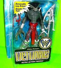 Wetworks VAMPIRE Ultra Action Figure McFarlane Toys Bio Clip Trading Card 1995