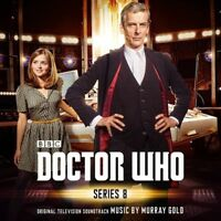 OST-ORIGINAL SOUNDTRACK TV - DOCTOR WHO-SERIES 8  CD NEU GOLD,MURRAY