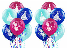12ct Disney Cinderella Latex Balloons Birthday Decorations Party Favor Supplies