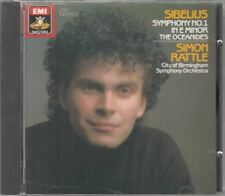 Symphony No. 1 In E Minor / The Oceanides : Simon Rattle