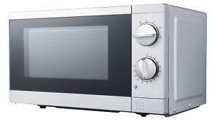 PKM Microwave 700 Watt Base Or Free-Standing 574.8oz Standmikrowelle Silver