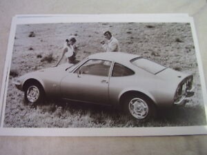 1970 BUICK OPEL GT  11 X 17  PHOTO /  PICTURE