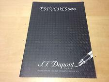 Used in shop - Blooket Brochure S.T. DUPONT Astucci 2007/08 - Usato in negozio