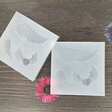 Angel wings Silicone Pendant Mold Making Jewelry Pendant Resin Casting DIY Mold