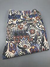 ZARA Jeans Trousers Size US 4/ MEX 26/ EUR 36 Floral Mix Colour