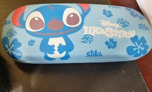 Adults or kids Lilo and Stitch blue Glasses case, one size 16cm x 6cm