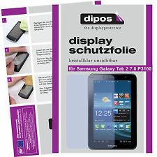 2x Samsung Galaxy Tab 2 7.0 P3100 screen protector protection crystal clear
