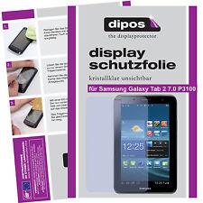 2x Samsung Galaxy Tab 2 7.0 P3100 Schutzfolie klar Displayschutzfolie Passgenau