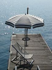 Maffei ombrellone palo centrale Mare Art.72 bianco/taupe dralon d.200 cm