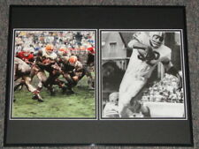 Jim Brown Framed 16x20 Photo Collage Browns