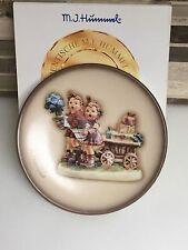 "Goebel M J Hummel ""Love's Bounty"" Miniature Plate with Original Box"