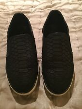 Moda In Pelle Black And White Pumps Leather Upper Size 38 Uk 5
