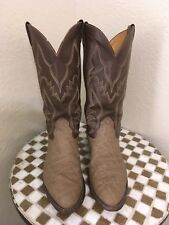 USA NOCONA BROWN VINTAGE LEATHER WESTERN COWBOY BOOTS 8.5E