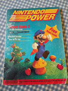 First Issue of Nintendo Power Vol.1 July/August 1988 Super Mario 2 - No Poster