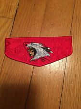 Owaneco Lodge 313 - 2001 Jamboree Delegate OA Flap Ghosted Red
