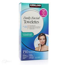 Kirkland Signature Daily Facial Wipes 150ct Cleansing Towelettes