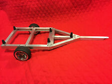 COMPLETE RC BOAT TRAILER FOR RC NQD TEAR INTO JET BOAT 1/10 SCALE..