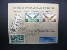 ILO BIT SERVICE COVER 14TH CONFERENCE 1930 USED