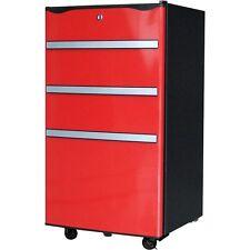 Red 3.2 cu ft Mini Fridge Tool Box Garage Utility Shop Man Cave Den Refrigerator