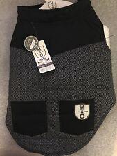 Molly & Olly Dog Apparel Grey Bomber Jacket Small RRP £25