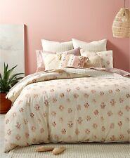 Lucky Brand Bedding Josh Tree Reversible KING Comforter Set Ivory $320 I153