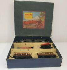 More details for vintage hornby meccano 0 gauge m1 clockwork passenger train set 40015 boxed