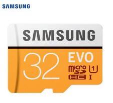 Samsung EVO 32GB SDHC GPS Card Carte Memoire C10 Max 100MBs SDXC U3 Cartao SD Sm