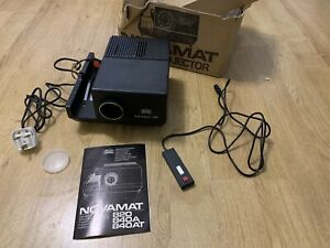 Braun Novamat 820 Slide Projector with Wired Remote Control 240v made in Germany