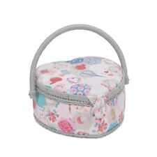 Sewing Basket - Small Heart Sewing Box - Notions - MRSH440