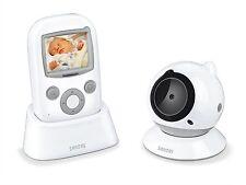 Sanitas SBY 98 Video Babyphone, Babyüberwachung Baby Control weiß grau ,NEU,OVP