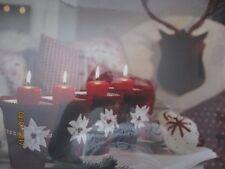Leuchtbild mit Fotoprint auf Canvas  Motiv: Stillleben Teelichthalter  6 LEDs