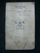 Army Catering Corps c.1950 Handwritten Recipe Book