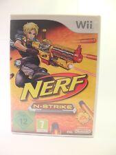 Nerf N-Strike-Nintendo Wii GAME-REGNO UNITO PAL con Manuale & Box