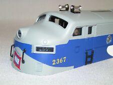 Lionel Postwar Celebration Series 2367 Wabash F3 A Unit Shell Fully Trimmed NOF