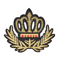 Crown patches iron on motifs applique for garment accessory for DIY patches FT