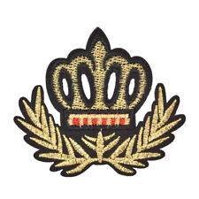 New crown patches iron on motifs applique for garment accessory for DIY patches&