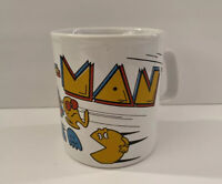 Vintage 1980 PAC-MAN Mug Kiln Craft PAC Man 10oz Collectible Mug Arcade