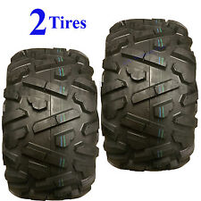 TWO 25x12.00-9 25x1200-9 25/12.00-9 25/1200-9 25x12-9 25/12-9 ATV TIRE P350 4ply