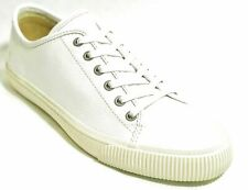 FRYE Patton Low Lace Up Sneakers Shoes Leather Men's White 10.5