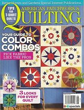 BH&G American Patchwork QUILTING 140 June 2016 Color Combo Guide Quilt Projects