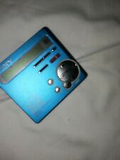 Sony Md Walkman Mz-R70 Mini Disc Player-Recorder Blue color