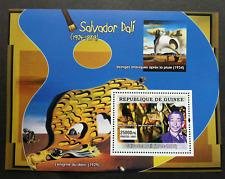 Guinea Painting Salvador Dali 2007 Art  Painter (miniature sheet) MNH