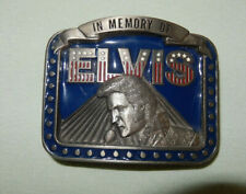 """Elvis Presley """"In Memory Of"""" Belt Buckle - New"""
