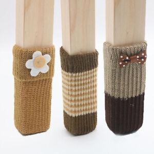 Chair Leg Socks Knitted Chair Leg Cover Floor Protectors Furniture Legs Coven8