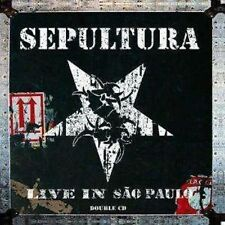 SEPULTURA / LIVE IN SAO PAULO * NEW 2CD'S * NEU *